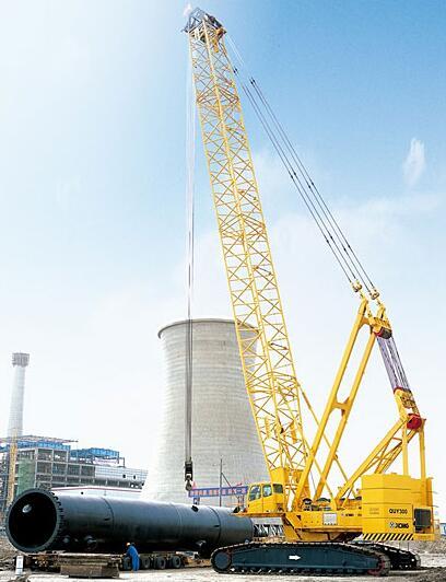 杜尔伯特260吨履带吊租赁
