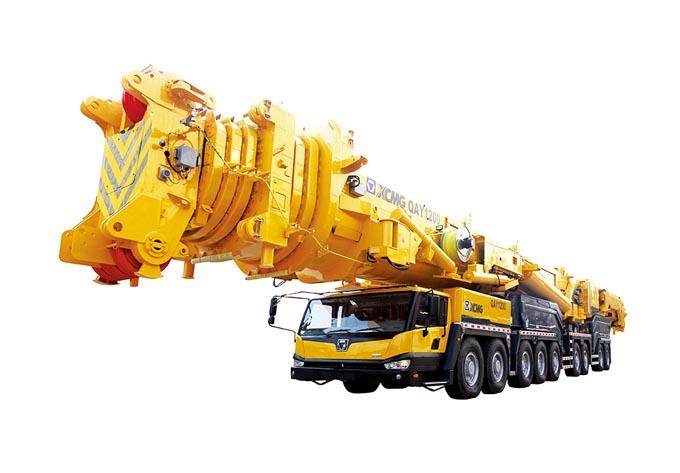 鸡西650吨吊车租赁