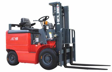 望奎1.5吨窄车身蓄电池叉车